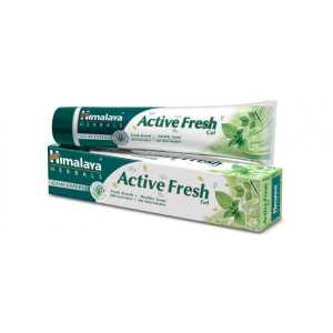 Pasta Do Zębów Himalaya Active Fresh Gel bez fluoru 80g